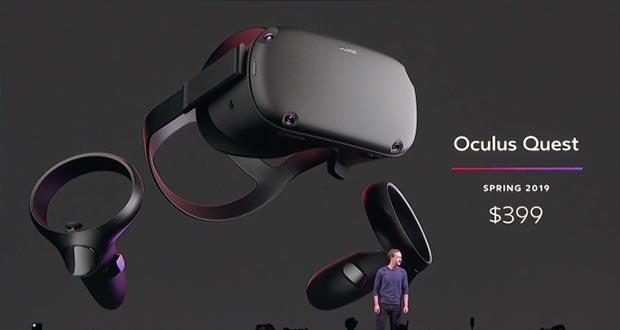 oculus quest evi - Oculus Quest: visore VR indipendente a 400 dollari