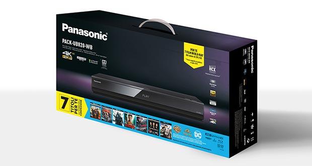 panasonic ub820 promo - Panasonic: film in regalo con i lettori UHD Blu-ray UB420 e UB820