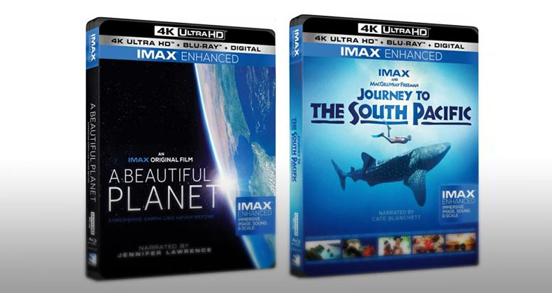 uhd blu ray imax - Ultra HD Blu-ray: arrivano i titoli IMAX Enhanced con HDR10+
