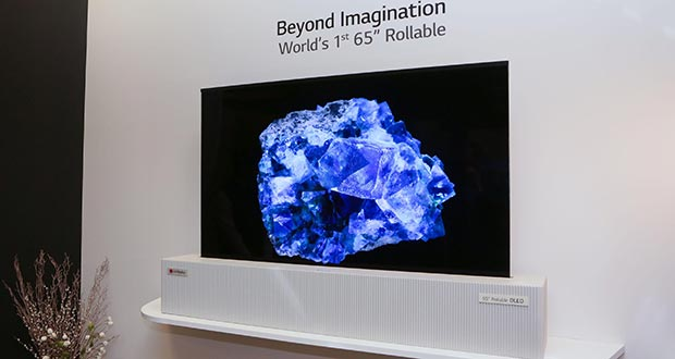 lg oled arrotolabile 2019 - LG: TV OLED arrotolabile al CES 2019?