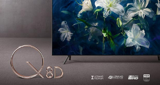 samsung q8dn evi - Samsung Q8DN: TV QLED Full LED disponibili in Italia