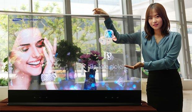 """samsung the window - Samsung registra il marchio """"The Window"""": in arrivo le TV trasparenti?"""