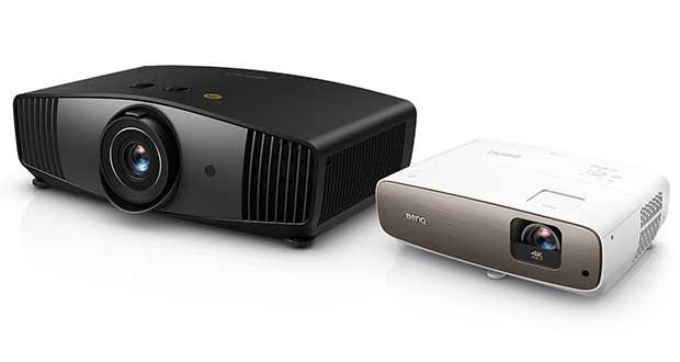 benq W5700 W2700 evi 07 01 19 - BenQ W5700 e W2700: proiettori DLP 4K HDR con HDR10 e HLG