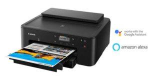 """canon pixma ts705 evi 07 01 19 300x160 - Canon Pixma TS705: stampante InkJet """"compatta"""" con Alexa e Google Home"""