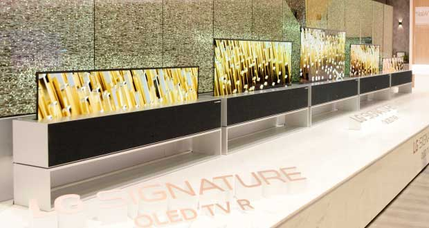 lg signature oled tv r evi - LG OLED65RX: la TV arrotolabile disponibile in Corea a 75K Euro