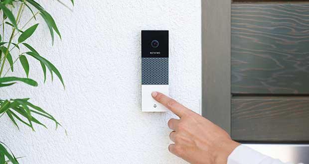 netatmo campanello evi 07 01 19 - Netatmo: campanello Smart Full HD al CES 2019