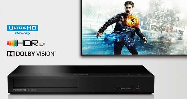 panasonic 4Kbd evi 08 01 19 - Panasonic DP-UB450: lettore UHD Blu-ray con HDR10+ e Dolby Vision