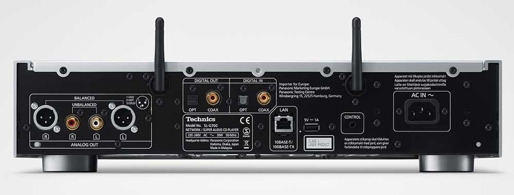 technics slg700 sacd 3 07 01 19 - Technics SL-G700: lettore SACD e di rete al CES 2019