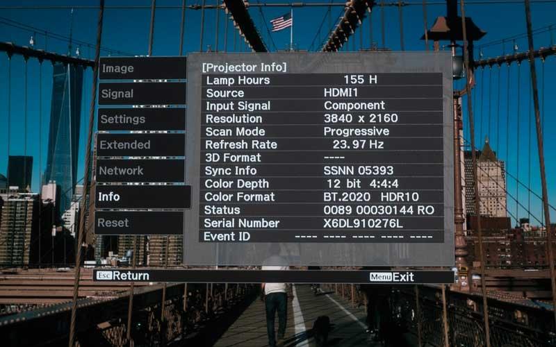 epson 9400 art 8 - Proiettore LCD 4K HDR Epson EH-TW9400 - La prova