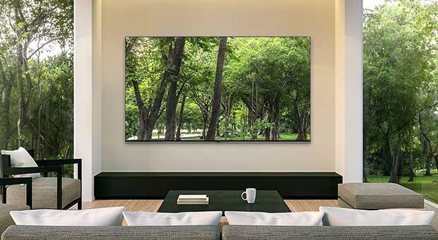 samsung q90r art6 - TV 4K HDR Samsung QLED QE65Q90R - La prova