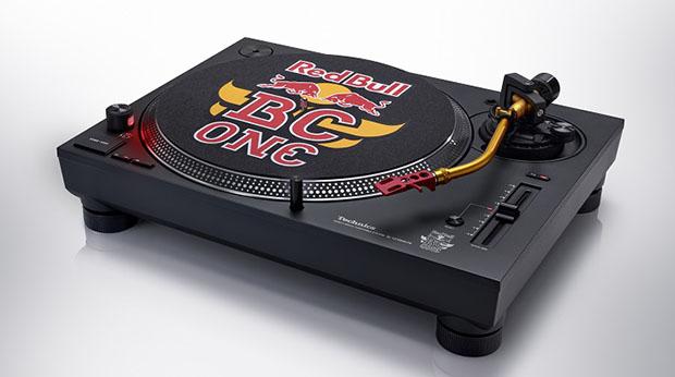 """Technics SL 1210MK7R Redbul 1 31 08 20 - Giradischi DJ Technics SL-1210MK7R """"Red Bull One BC"""""""