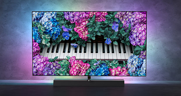 philips oled935 evi 01 09 20 - Philips TV OLED+ 935 da 48 fino a 65 pollici e soundbar B&W