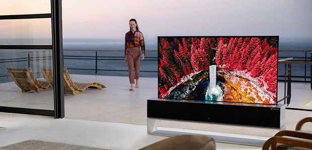 Lg oled arrotolabile 65R 2 24 10 20 - LG OLED65RX: la TV arrotolabile disponibile in Corea a 75K Euro