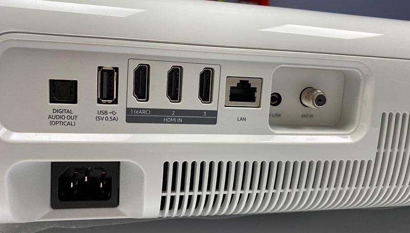 samsung LSPT7 11 30 10 20 - Samsung LSP7T: primo contatto con il proiettore Laser a tiro ultra corto
