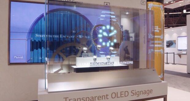 LG Oled transparente 2 620x330 - LG OLED Trasparente 55EW5F: l'abbiamo provato e misurato!