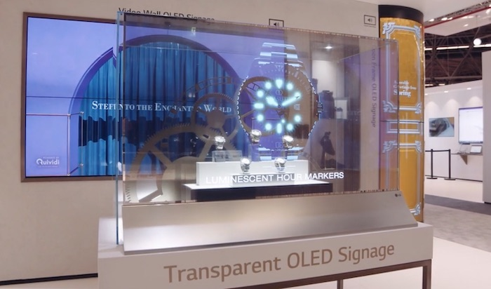 LG Oled transparente 2 - LG OLED Trasparente 55EW5F: l'abbiamo provato e misurato!