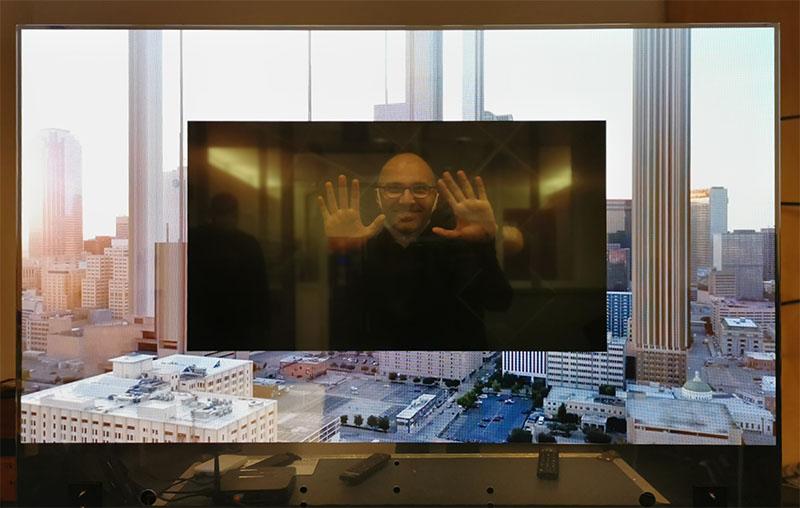 lg oled trasparente 1 20 11 20 - LG OLED Trasparente 55EW5F: l'abbiamo provato e misurato!