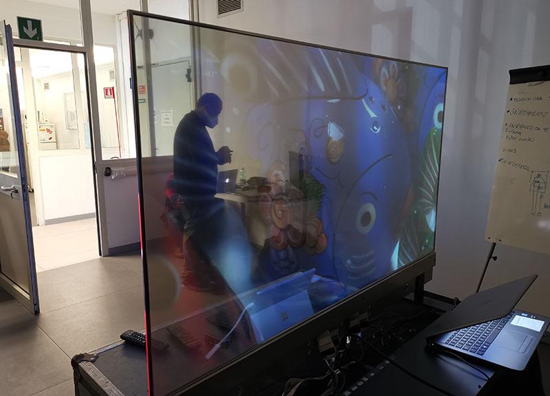 lg oled trasparente 8 20 11 20 - LG OLED Trasparente 55EW5F: l'abbiamo provato e misurato!