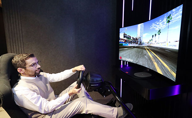 LG Bendable Cinematic Sound OLED 1 04 01 21 - LG Bendable Cinematic Sound OLED: 48 pollici a curvatura variabile per i Gamer