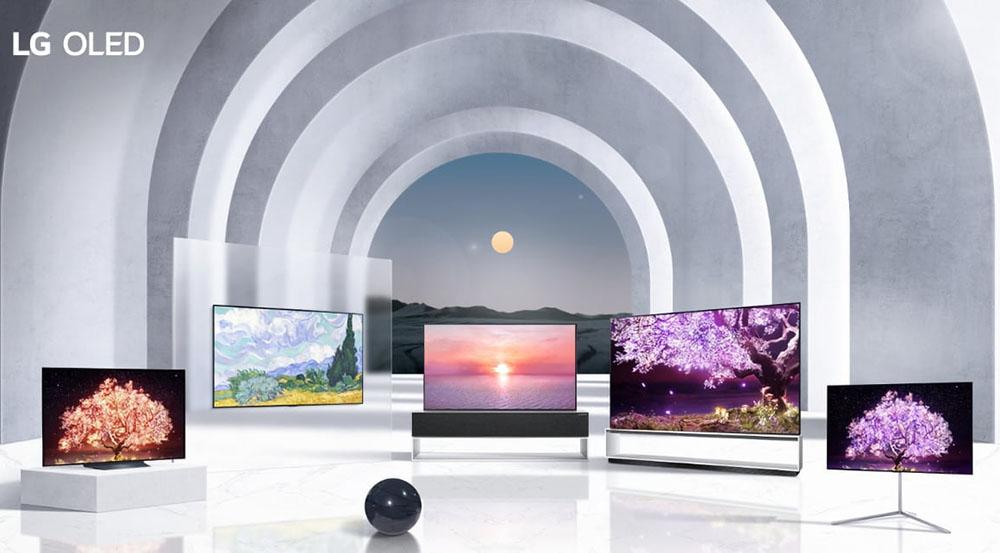 """lg oled 2021 1 11 01 21 - LG OLED TV 2021: 42 e 83 pollici, EVO più luminosi e in futuro anche 20-30"""""""