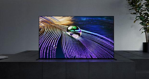 """sony oled 2021 evi 08 01 21 - Sony OLED TV XR A90J e A80J: fino a 83"""", HDMI 2.1 e pannelli più luminosi"""